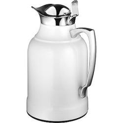Alfi Glass Vacuum Insulated Chrome Plated Brass Carafe Beverage Pitcher 1l
