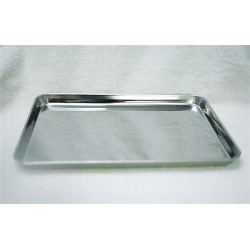 "Mayo Stand Stainless Steel Instrument Tray Medical Tattoo 19"" X 12.5""x 5/8"""