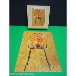 Anne Geddes Baby Flower Mini Jigsaw Puzzle 100 Pcs Jaymar 1997 Complete 1510-3