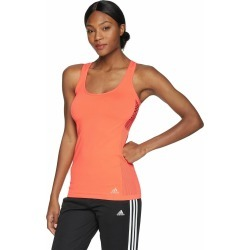 Women's Adidas Running Parley Primeknit Tank Easy Coral Size Large Msrp $65