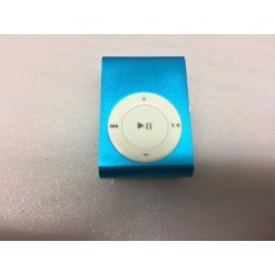 Clip On Mini Mp3 Player (blue)