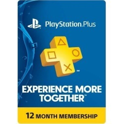 Sony Playstation Plus 1 Year Membership Subscription Card - found on GamingScroll.com from ebay.com for $32.99