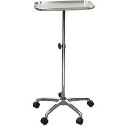 Mayo Instrument Stand With Mobile 5 Caster Base 13071 By Drive Medical