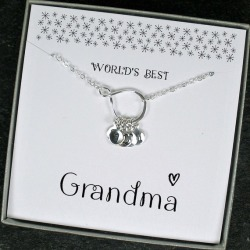Grandma Necklace Personalized Grandma Gifts Jewelry | Etsy found on Bargain Bro from  for $30