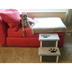 Dog Steps Father's Day Gift for Dog Dad Sturdy All   Etsy found on Bargain Bro from  for $149