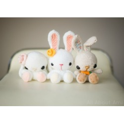 Spring Bunnies Crochet Pattern found on Bargain Bro from  for $3.11