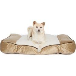 Foam Sherpa Pillow Rectangular Dog Bed