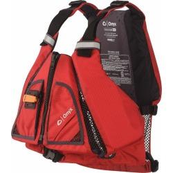 Onyx MoveVent Torsion Paddle Sports Life Vest - Red/Black - XL/2X