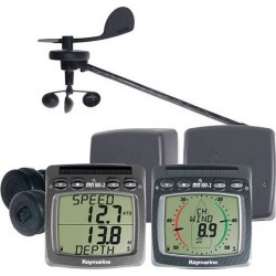 Raymarine Wireless Speed Depth Wind NMEA System - T104-916 found on Bargain Bro India from Tackle Direct for $2499.99