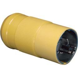 Marinco 50A 125/250V Locking Male Plug - 6365CRN