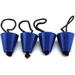 Yak Gear Universal Scupper Plug Kit - SCUP4 found on Bargain Bro India from Tackle Direct for $12.99