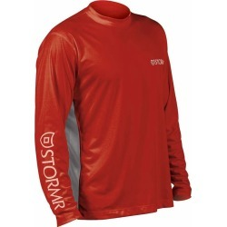 Stormr RW215M-05 Men's UV Shield Long Sleeve Shirt Red Small found on Bargain Bro Philippines from Tackle Direct for $34.95