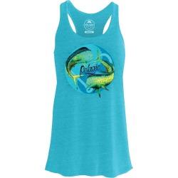 Pelagic Yin Yang Tank - Heather Aqua Large