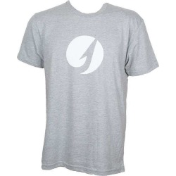 TackleDirect Hook Logo Men's T-Shirt - Heather Gray - Size Large found on Bargain Bro India from Tackle Direct for $15.99