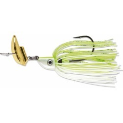 Terminator Shuddering Bait - 1/2oz - Chartreuse and White Shad