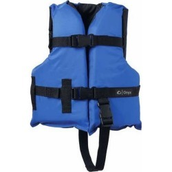 Onyx 3332 Child General Purpose Vest Blue/Black found on Bargain Bro Philippines from Tackle Direct for $13.99