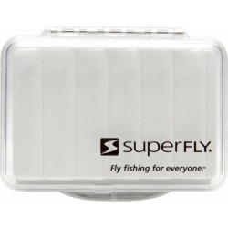 Superfly Clear Ripple Fly Box - Small