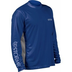 Stormr RW215M-44 Men's UV Shield Long Sleeve Shirt Blue Large found on Bargain Bro Philippines from Tackle Direct for $34.95