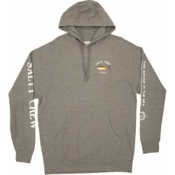 Salty Crew Ahi Mount Fleece Hoodie - Gunmetal Heather - 2XL found on Bargain Bro from Tackle Direct for USD $42.56