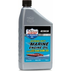 Lucas Oil Ext. Duty Marine Engine Oil Semi-Synthetic SAE 20W50 - 1 qt.
