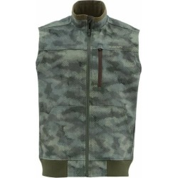 Simms Rogue Fleece Vest - Hex Camo Loden - Medium