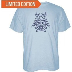 YETI Horn, Fin, and Feather Short Sleeve T-Shirt - Large found on Bargain Bro India from Tackle Direct for $24.99