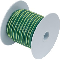 Ancor 10 AWG Tinned Copper Wire Primary Cable - Green/Yellow - 250ft found on Bargain Bro from Tackle Direct for USD $85.11