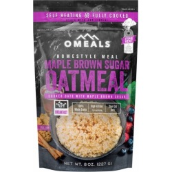 Omeals Self Heating Homestyle Meal - Maple Brown Sugar Oatmeal