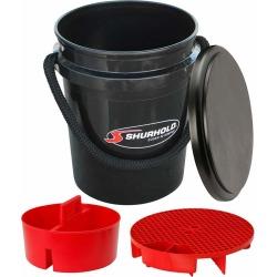 Shurhold 2462 One Bucket Kit - 5 Gallon - Black