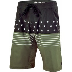 AVID Sportswear Iconic Boardshort - Fatigue - 30 found on Bargain Bro from Tackle Direct for USD $49.39