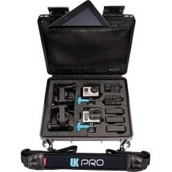 UKPro POV40 Multi-Camera Waterproof GoPro Case w/ Shoulder Strap