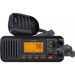Uniden Fixed Mount VHF Radio - Black - UM385BK found on Bargain Bro India from Tackle Direct for $98.99