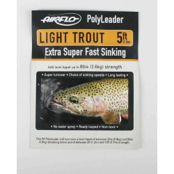 Airflo Light Trout 5ft PolyLeader Slow Sinking