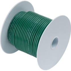 Ancor 16 AWG Tinned Copper Wire Primary Cable - Green - 100 ft. found on Bargain Bro from Tackle Direct for USD $12.15