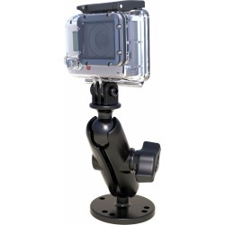 "RAM 1"" Ball Mount w/ Custom GoPro Hero Adapter"