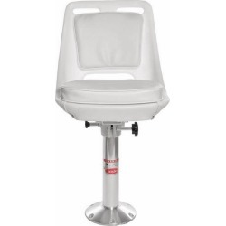 Todd 0106-SP Point Loma Helm Seat, Cushion, Slider & Pedestal Package
