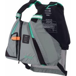 Onyx MoveVent Dynamic Paddle SPorts Life Vest - Aqua - M/L