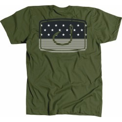 AVID Sportswear Merica Fatigue T-Shirt - Military - Small found on Bargain Bro from Tackle Direct for USD $20.51