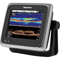 "Raymarine a68 Wi-Fi 5.7"" MFD Touchscreen North American Gold Bundle"