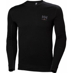 Helly Hansen Lifa Merino Long Sleeve Crewneck Shirts - Black - L found on MODAPINS from Tackle Direct for USD $80.00