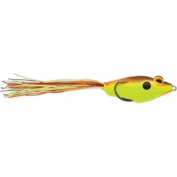 Terminator Walking Frog - 3in - Hot Chartreuse Shad