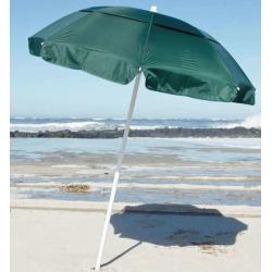 Frankford & Sons 6ft Diameter Beach Umbrella - Forest Green
