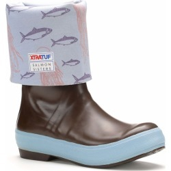 Xtratuf Salmon Sisters Legacy Boot - 15in Jellyfish Print - 10 - WAS $129.99