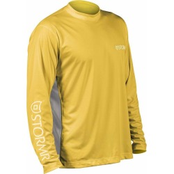 Stormr RW215M-63 Men's UV Shield Long Sleeve Shirt Yellow Medium found on Bargain Bro Philippines from Tackle Direct for $34.95