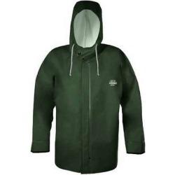Grundens B44G Brigg 44 Rainjacket With Neoprene Cuff Green - Medium found on Bargain Bro Philippines from Tackle Direct for $149.99