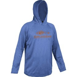 Grundens Deck Hand Hoodie - Deep Water Blue L found on Bargain Bro India from Tackle Direct for $28.99