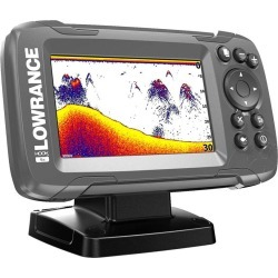 Lowrance HOOK2-4x 4in Fishfinder w/ Bullet Skimmer found on Bargain Bro Philippines from Tackle Direct for $99.99