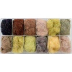 Spirit River UV2 Fine/Dry Dubbing - Assorted found on Bargain Bro India from Tackle Direct for $14.50