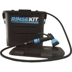 RinseKit Portable Shower w/ Hot Water Sink Adapter