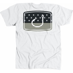 AVID Sportswear Merica Fatigue T-Shirt - White - Large found on Bargain Bro from Tackle Direct for USD $15.19